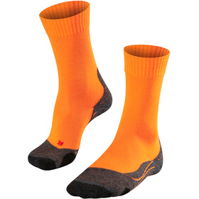 Falke TK2 Chaussettes de trekking Homme, flash orange